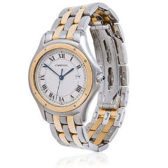 Cartier Cougar Panthere 187904 Two ton 18K YG