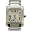 Cartier Tank Francaise Mid-Size with Date - Stainless Steel W51011Q3