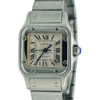 Cartier Santos Galbee Stainless Steel 2423 Ladies New Style - SEA Wave Diamonds