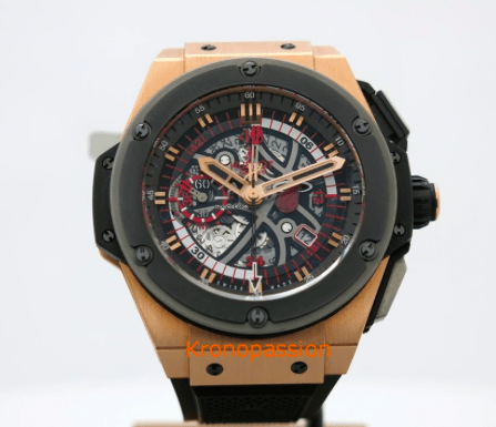 Hublot King Power Miami Heat 18K Rose Gold - SEA Wave Diamonds
