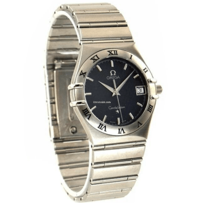 Omega Men's 1512.40.00 Constellation Quartz Watch - SEA Wave Diamonds
