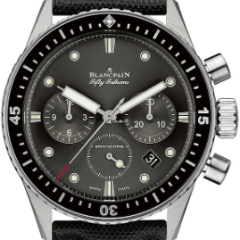 Blancpain Fifty Fathoms Bathyscaphe Flyback Chronograph 43mm - SEA Wave Diamonds