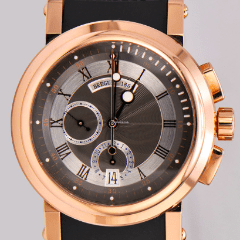 Breguet Marine 5827 Chronograph Rose Gold 5827BR/Z2/5ZU - SEA Wave Diamonds