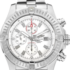 Breitling Super Avenger Chronograph A13370 - SEA Wave Diamonds