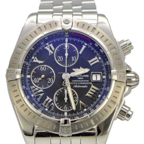 Breitling Super Avenger II REF:A1337111/G779-professional-iii-steel - SEA Wave Diamonds