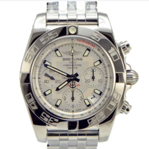 Breitling Chronomat 41 / Stainless Steel Silver Dial New - SEA Wave Diamonds