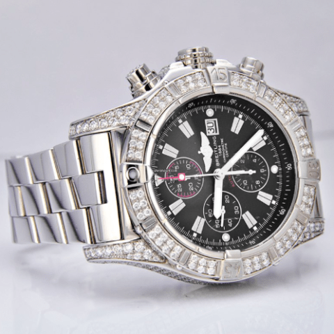 Breitling Super Avenger / Diamond Case / Great Condition