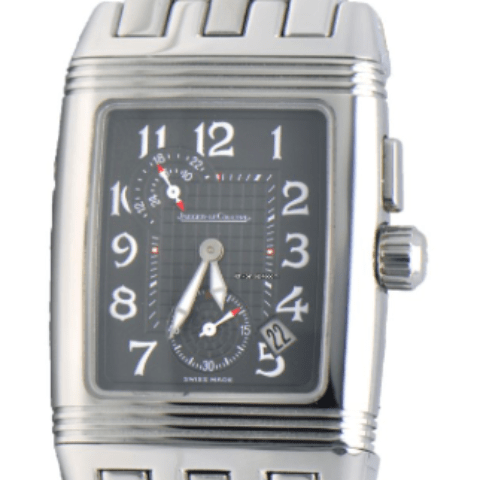 Jaeger-LeCoultre Jaeger LeCoultre Reverso Gran Sport Duo Stainless Steel - SEA Wave Diamonds