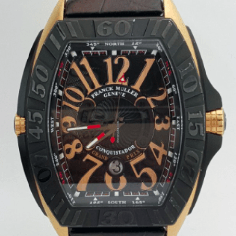 Franck Muller Conquistador Grand Prix REF: 9900 SC DT GPG - SEA Wave Diamonds