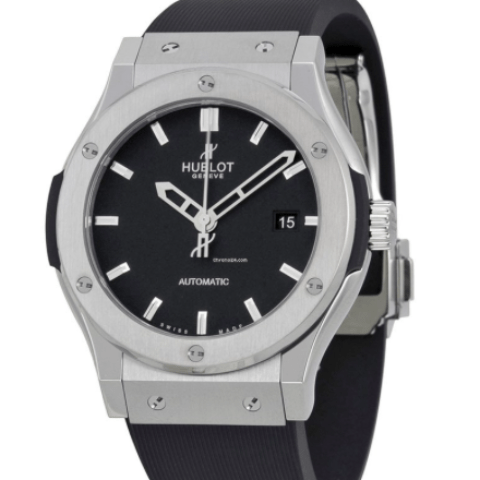 Hublot Classic Fusion 42mm Titanium - SEA Wave Diamonds