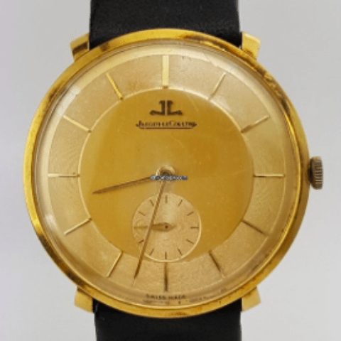 Jaeger-LeCoultre 18K Yellow Gold/REF:2237 - SEA Wave Diamonds