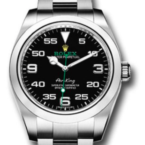 Rolex Air King 40mm Pre-Owned New Style