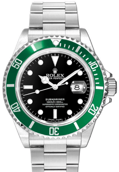 Rolex Submariner Date 50TH ANNIVERSARY Pre-Owned Very Good Condition With Box and Papers 16610LV