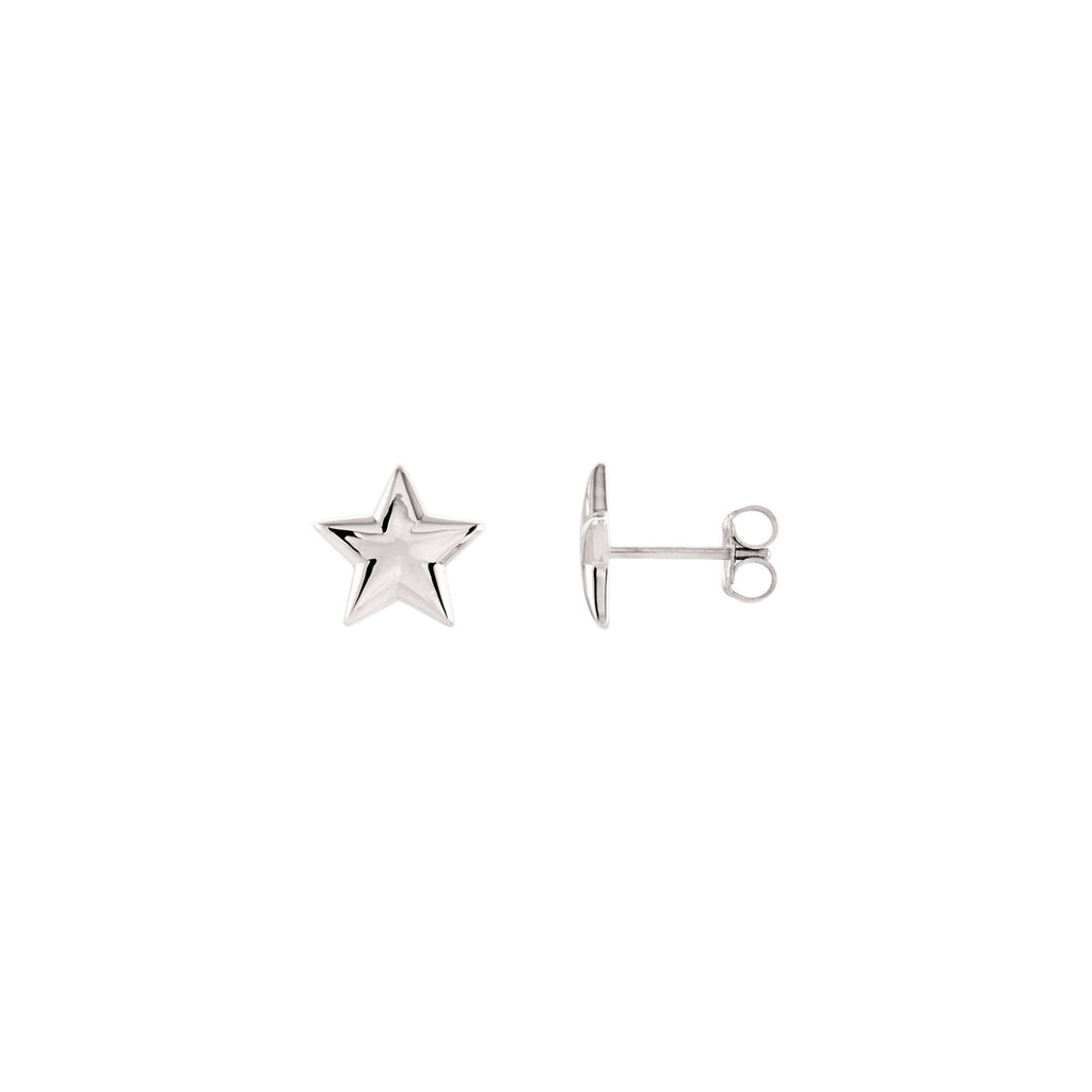 Star Earrings - SEA Wave Diamonds
