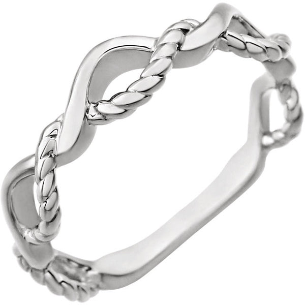 Twisted Rope Ring - SEA Wave Diamonds