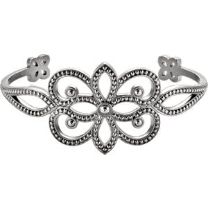 Crown Bangle Bracelet - SEA Wave Diamonds