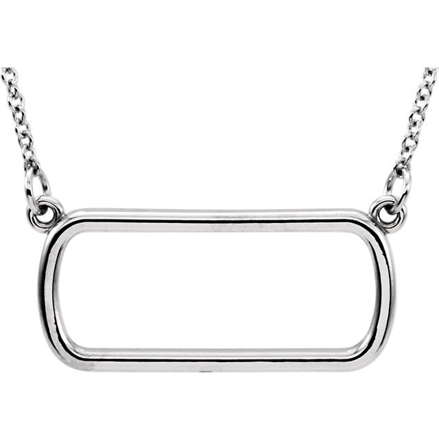 Soft Rectangle Necklace