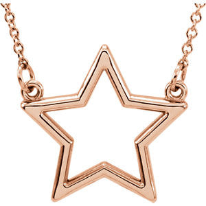 Star Necklace - SEA Wave Diamonds