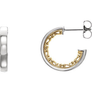 Vintage-Inspired Hoop Earrings