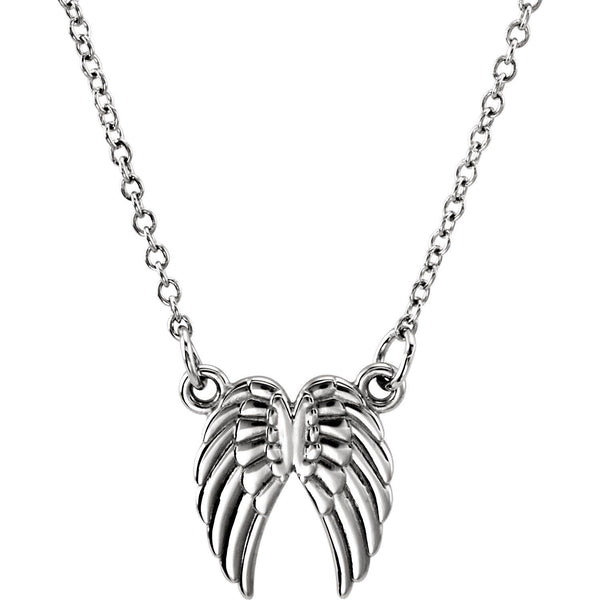Angel Wings Necklace - SEA Wave Diamonds