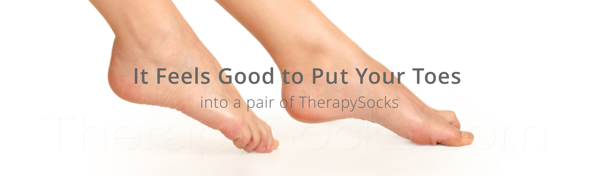 Slide your toes into a pair of TherapySocks
