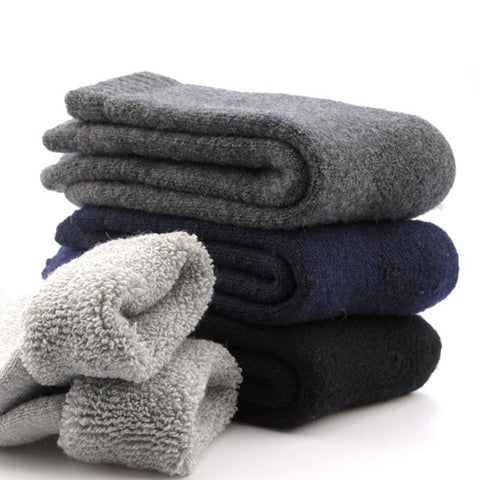 Super Thick Merino Wool Socks - four colors