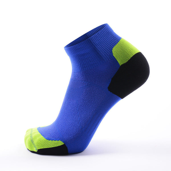 Blue CoolMax Compression Sports Socks
