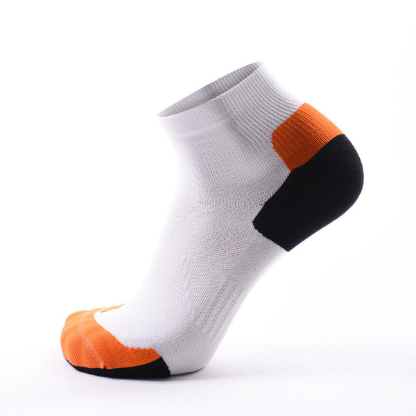 CoolMax Compression Sports Socks White