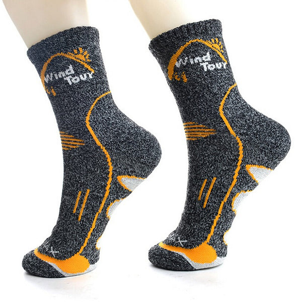 side view CoolMax Thermal Socks