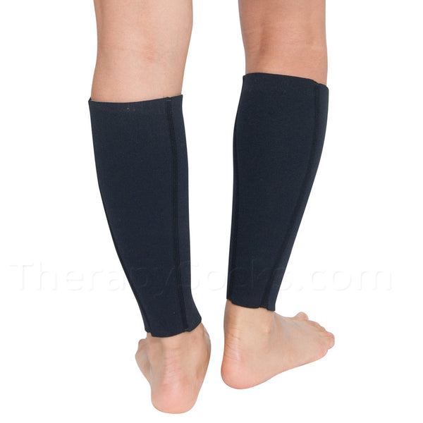 Bioceramic Neoprene Calf Slimming Sleeves - Black
