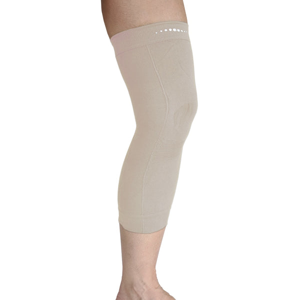 Single Far Infrared therapeutic Circulation Knee Band in Beige
