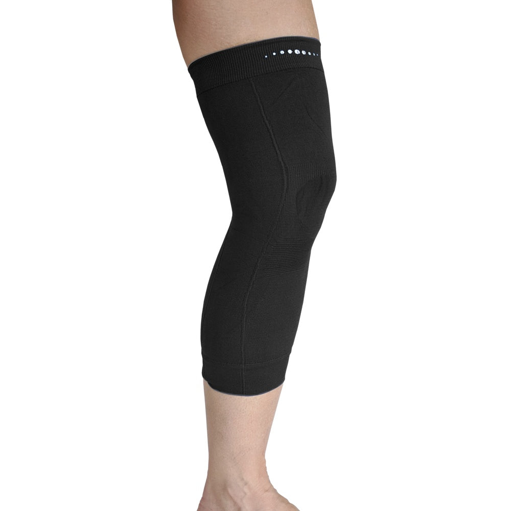 Single Far Infrared Therapeutic Circulation Knee Band in Black
