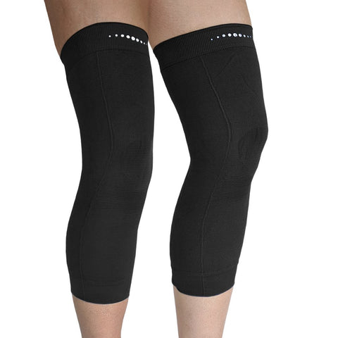 Pair of Far Infrared therapeutic Circulation Knee Bands in Black