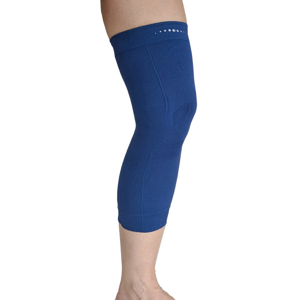 Single Far Infrared therapeutic Circulation Knee Band in Navy Blue
