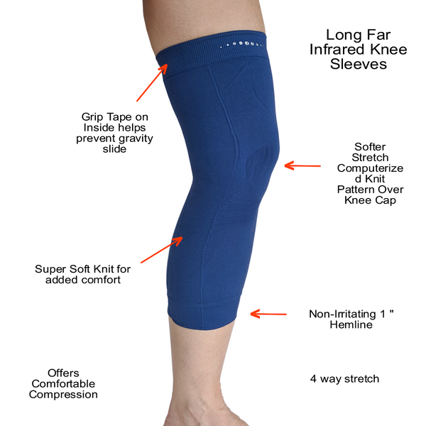 Feature of the Far Infrared therapeutic Circulation Knee Bands