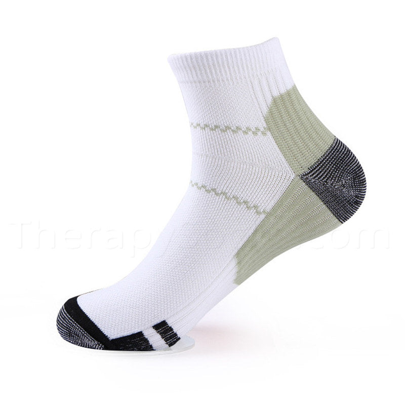 Compression Ankle Socks for Plantar Fasciitis - Green