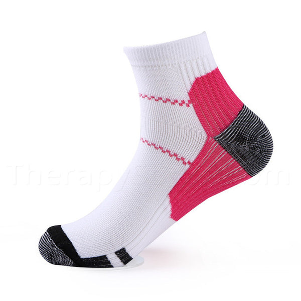 Where to Buy Compression Ankle Socks for Plantar Fasciitis - Red