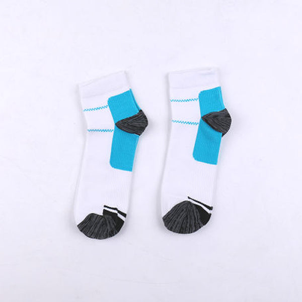 Plantar Fasciitis Ankle High Socks Pair