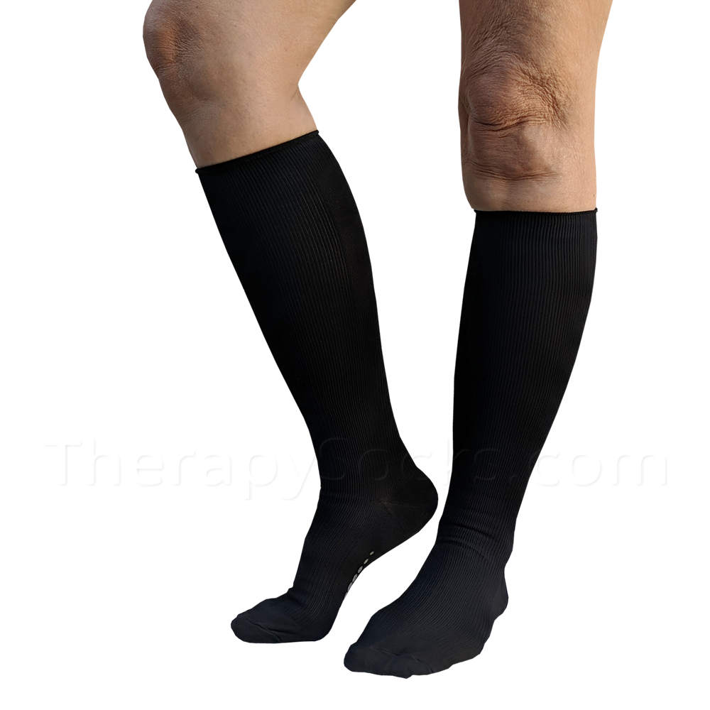 NEW Bioceramic Medical Compression Socks: 15-20 mmHg in BLACK
