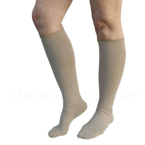 NEW Bioceramic Medical Compression Socks: 20-30 mmHg Beige. buy Compression Socks