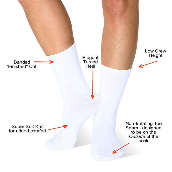 Features of the Far infrared Circulation Crew Socks