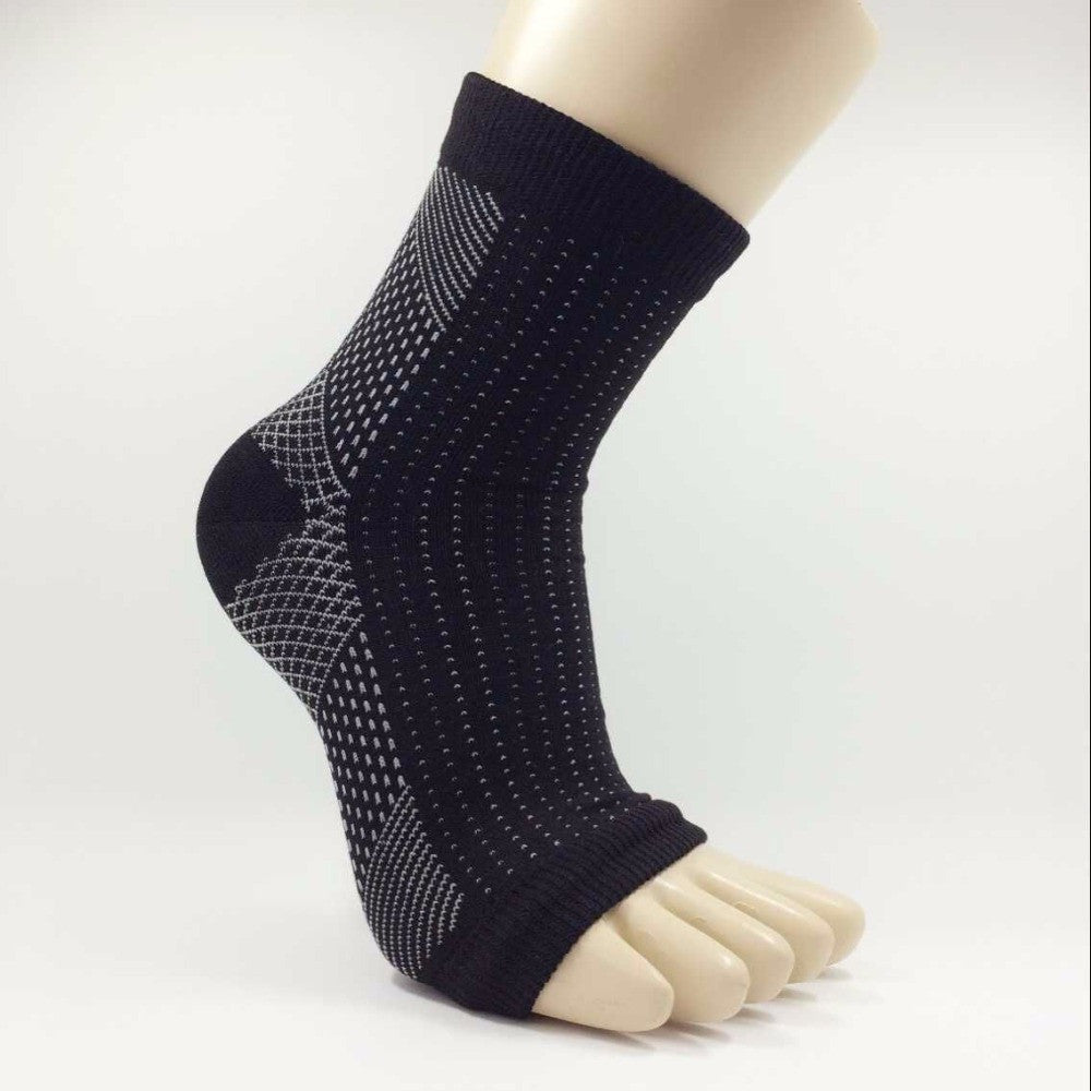 Unisex Elastic Ankle Support Sleeve Socks