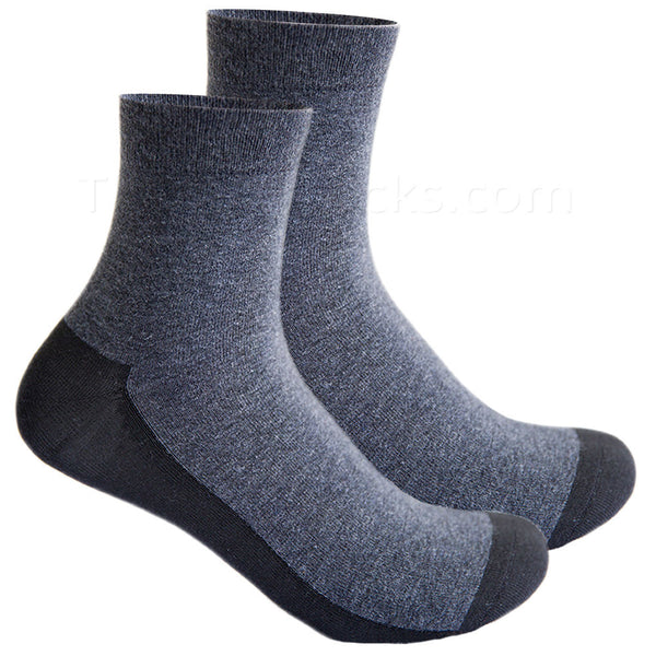 Graphine Far Infrared Therapy Socks in Ash Gray