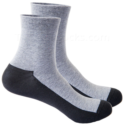 Graphine Far Infrared Therapy Socks in Light Gray Large
