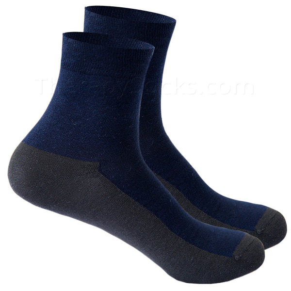 Far Infrared Graphene Fiber Socks - Navy
