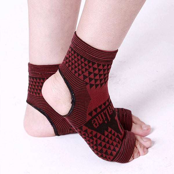 Far Infrared Tourmaline Ankle Brace Support Sleeves