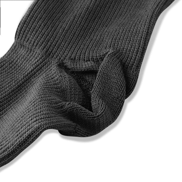 Closeup of Heel Unisex Knee High Compression Socks