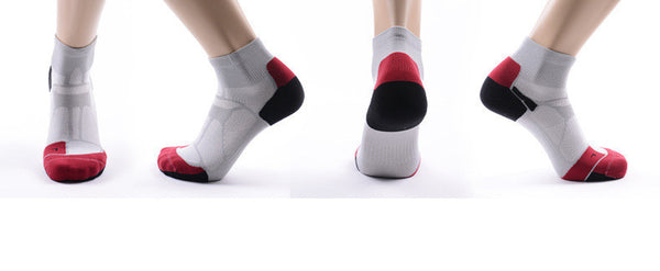 four sides of CoolMax Compression Sports Socks