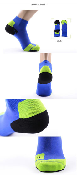 blue view CoolMax Compression Sports Socks