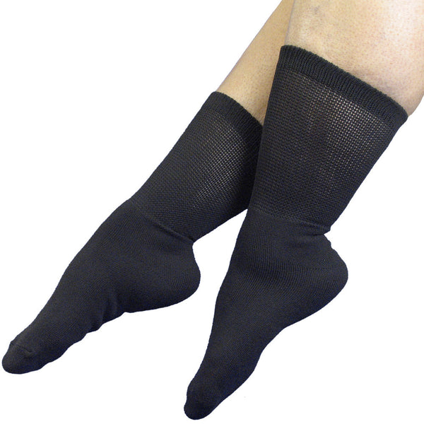 RELAXED FIT Far Infrared Socks Black